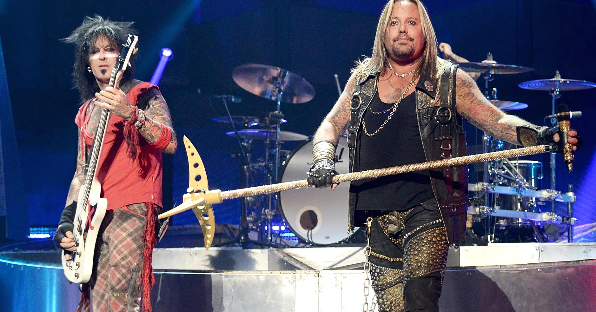 Motley Crue during The Final Tour