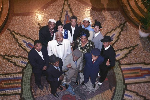 Buena Vista Social Club members and Cuba's Grandfathers of Music, on tour in Sydney, Australia in 2005.