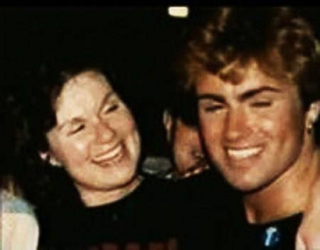 Lesley Angold and George Michael