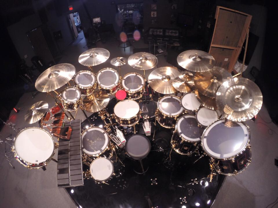 Neil Peart's R40 kit
