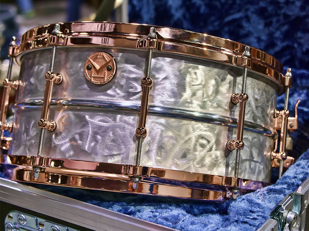 Ludwig Shines With Alex Van Halen Supraphonic Signature Snare Beato S Blog
